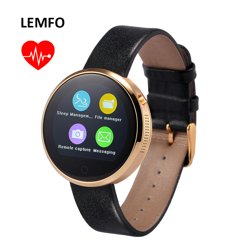 LEMFO DM360 Smart Watch Men Women Bluetooth Heart Rate Monitoring Wristwatch Wrist Smartwatch For Apple IOS Android Phone Mate(China (Mainland))
