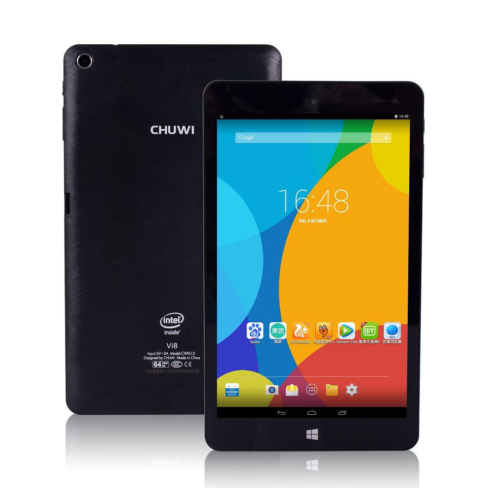 Chuwi VI8 Super/Ultra Dual OS 2GB 32GB 8 inch IPS Intel Z3735F Windows 8.1 Android 4.4 WIFI tablet pc Hi8 Windows 10 Tablets(China (Mainland))
