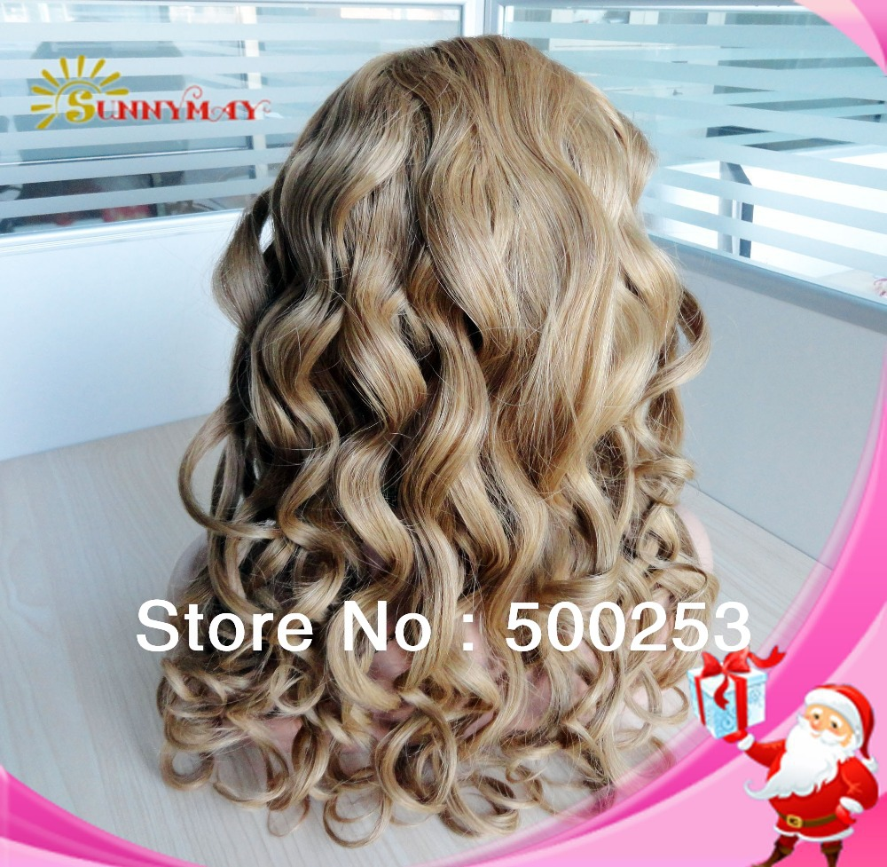 Unprocessed 100% cheap virgin indian hair full lace wig curly human hair wigs<br><br>Aliexpress