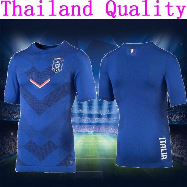 Italy jersey Training Wear 2016 Italy football shirt BALOTELLI PIRLO ITALIA  Formazione usura(China (Mainland))