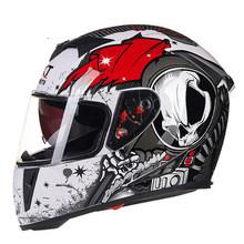 GXT casque de Moto rabattable casques de Motocross hommes casques de Moto intégral Moto capacité Casco Moto avec lentille double(China)