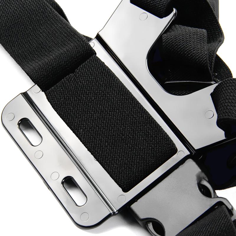 Go Pro Adjustable Chest Body Tripod Harness Belt Strap Mount Black For Gopro Hero 4 3+2 Sj4000 Xiaomi Yi Camera Accessories GP27
