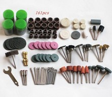 Brand New 161 pcs BIT SET SUIT MINI DRILL ROTARY TOOL & FIT DREMEL Grinding,Carving,Polishing tool sets,grinder head