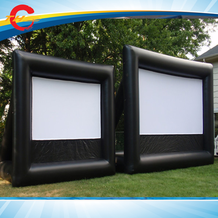 outdoor Giant Inflatable Movie Screen,Inflatable air cinema Screen,inflatable film screens(China (Mainland))