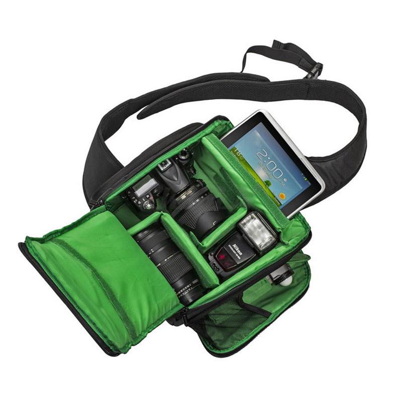 New Fashion SLR Sling Bag Camera Backpack Bag to Camera Brand Photography Camera Video Bag Photo DSLR Sling Camera Bag YD16_0525(China (Mainland))