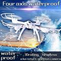 Fun 2 4GHz 4CH 6Axis Gyro Waterproof One Key Return 360 Degree Roll RC Helicopter Quadcopter