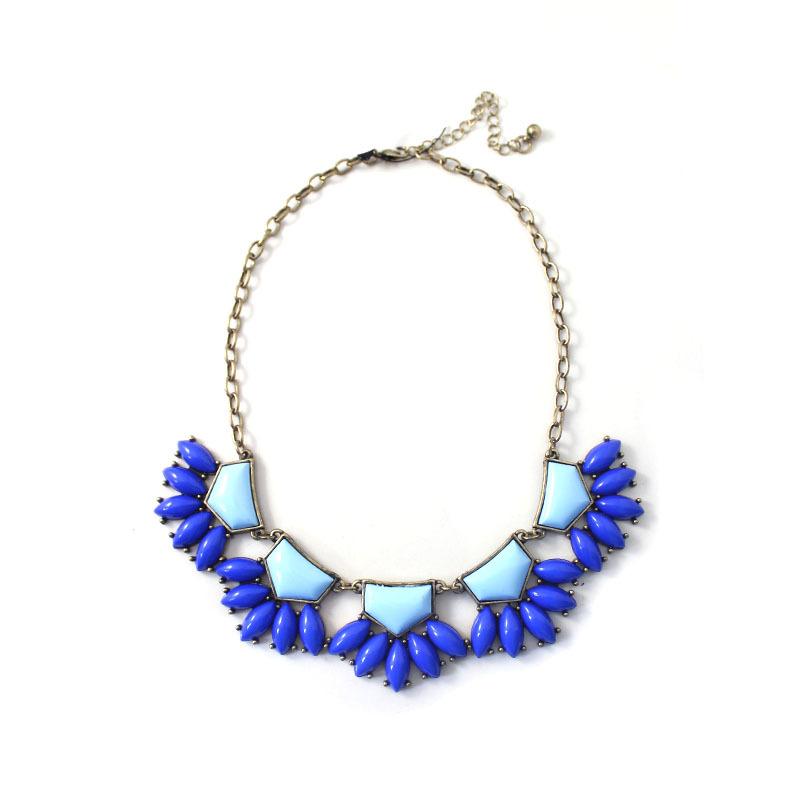 colorful handmade fashion jewelry luxury imitation gem