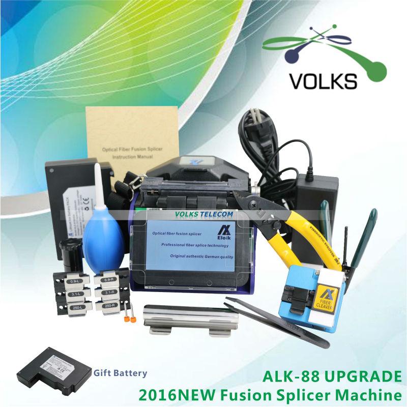 Fast fiber optical fusion splicer Eloik ALK-88A free shipping(China (Mainland))