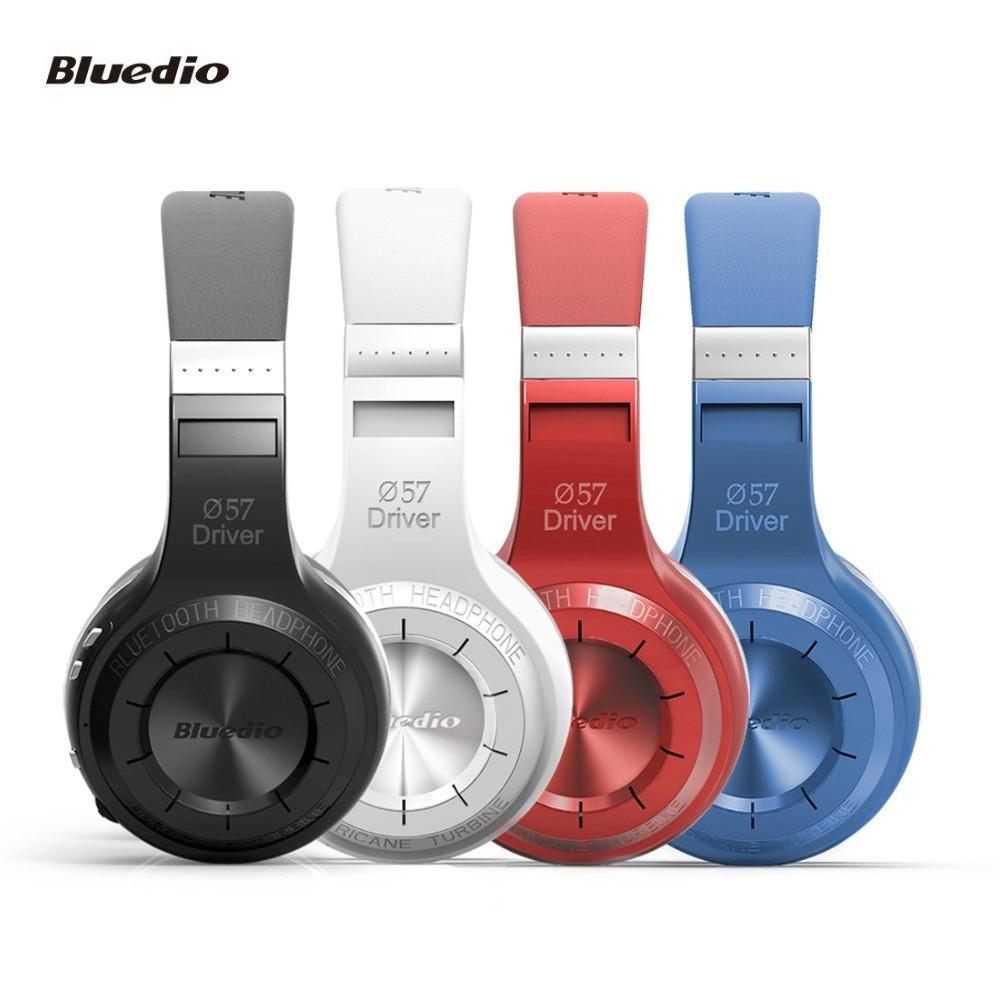 100% Original Bludio Bluedio HT shooting Brake Bluetooth 4.1 Wireless Stereo Bass Headphones Headset Mic for iPhone 5 5S 6