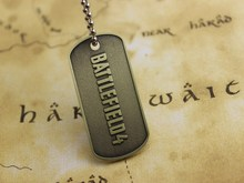 BF4 Battlefield 4 Dog Tag Identity Card Pendant Free Shipping Wholesale