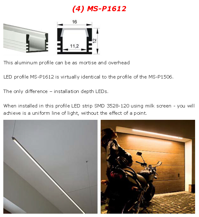 50PCS/Lot LED Plastic Profile LED Aluminum Channel LED Profile For LED Strip LED Bar Light(China (Mainland))