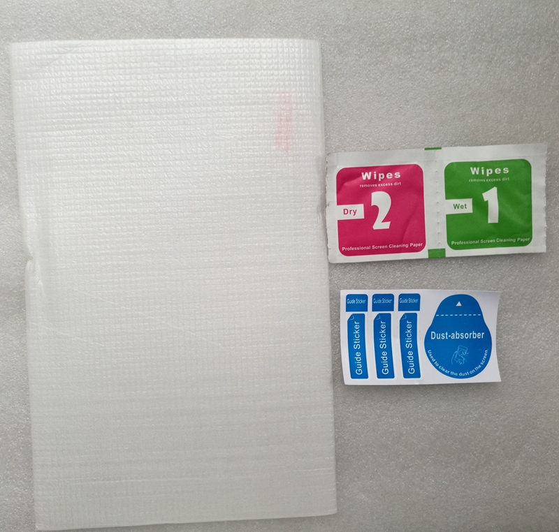 "Tempered Glass Film Screen Protector Cube iwork1X iwork 1X 11.6"" Tablet PC + Cleaning Wipes Protective Film Retail Box"