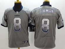 A+++ all stitched ,Dallas Cowboys signature 8 Troy Aikman,9 Tony Romo,12 Roger Staubach 19 Miles Austin(China (Mainland))