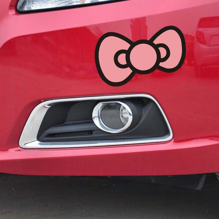 car styling HELLO KITTY sticker autoThe Whole Body/car decorate accessories stickers For MG nissan Toyota Peugeot  Hyundai(China (Mainland))