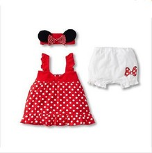 2016 Hot Baby Clothing Rompers Newborn Baby Girl Summer Clothes Sets (Sleeve Romper+Hat+Pants)Baby Boy One Pieces Ropa Bebe(China (Mainland))