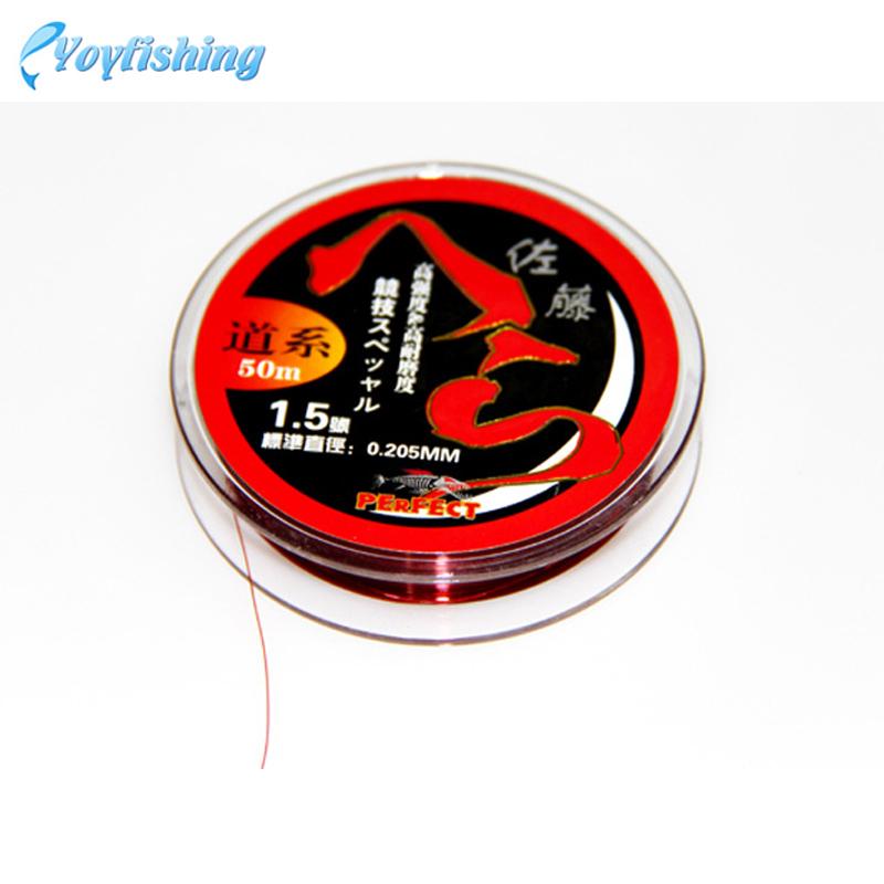 50M YoyFishing Mainline Road Line Athletics line High Quality Nylon Fishing Lines(China (Mainland))