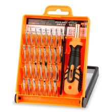 JAKEMY JM-8100 32 in 1 Mobile Phone Repair Tools Kit Multipurpose Precision Hardware Screwdriver Hand Tools Set for iPhone PC