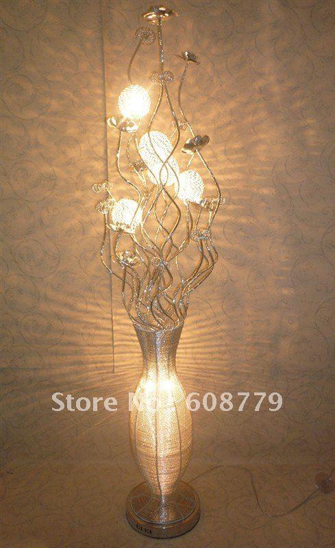 F066--New Arrival Free Shipping Aluminum Elegant Night Light(China (Mainland))