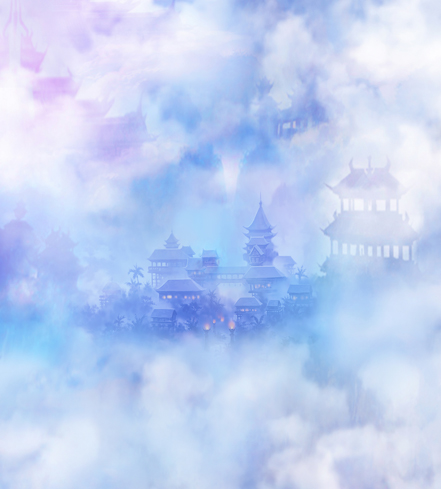 300*600cm(10ft*20ft) photo studio backdrop Mirage cloud castles in the air photography backdrops<br><br>Aliexpress