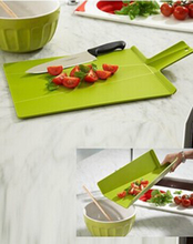 Hot Kitchen Tools Creative Cutting Board With Handle Flexible Food Safety PP Chopping Board Mat Support Outdoor Camping Picnic(China (Mainland))