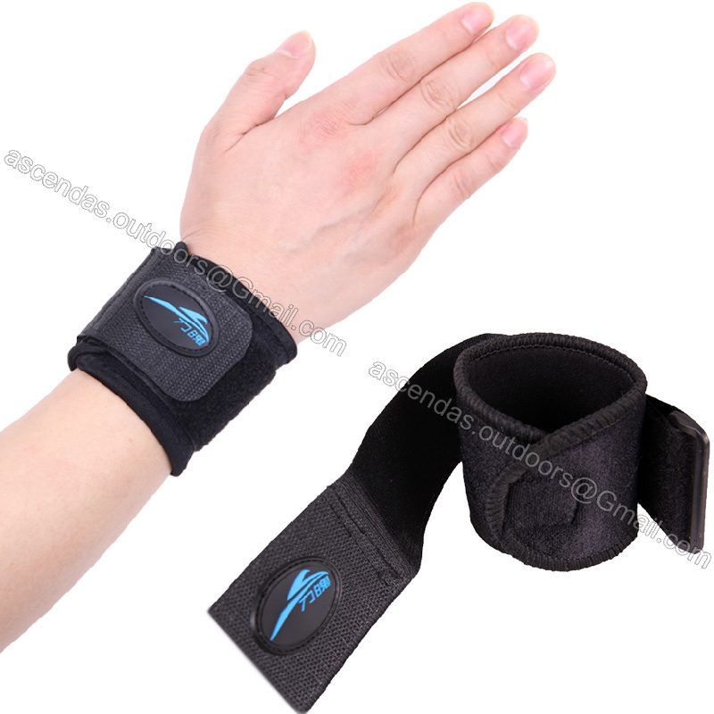 1 Pair Wrist Support Sport Tennis Weightlifting Volleyball Wristband Bracer fitness gym Wrap Bandage Strap Wrist Brace Support(China (Mainland))