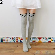 Women Cute 3D Cartoon Animal Pattern Thigh Stockings Over Knee High Socks  1PQM 1U9W