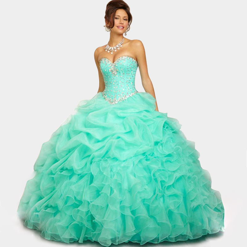 Light Blue Quinceanera Dresses 2014