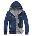 2016 Autumn Winter new men s Hooded double surface jacket men s casual fashion Cotton jacket