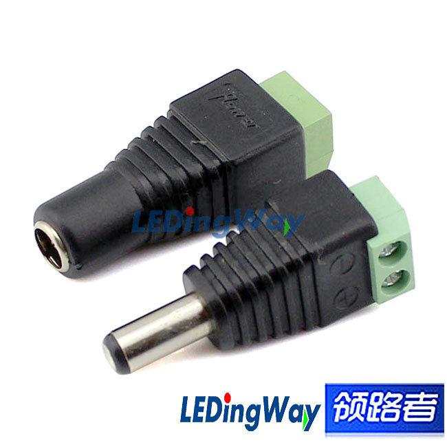 Low Voltage Connectors : Aliexpress buy male female v dc power plug jack