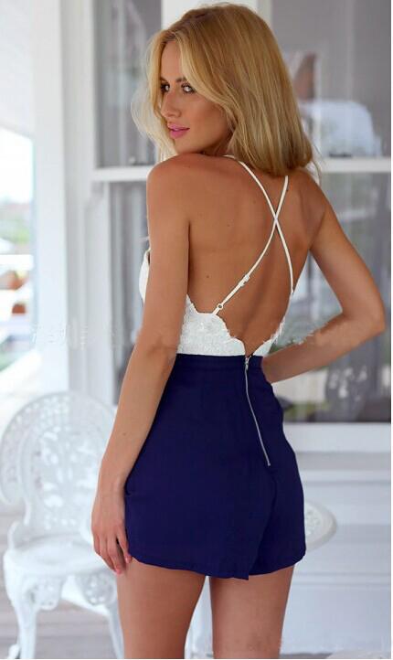 cross back jumpsuit