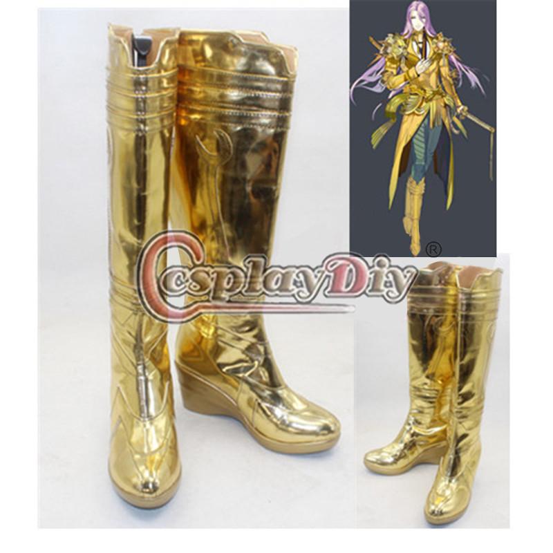 Touken Ranbu Hachisukakotetsu Anime Cosplay Shoes Carnival Cosplay Boots Custom Made D0612(China (Mainland))