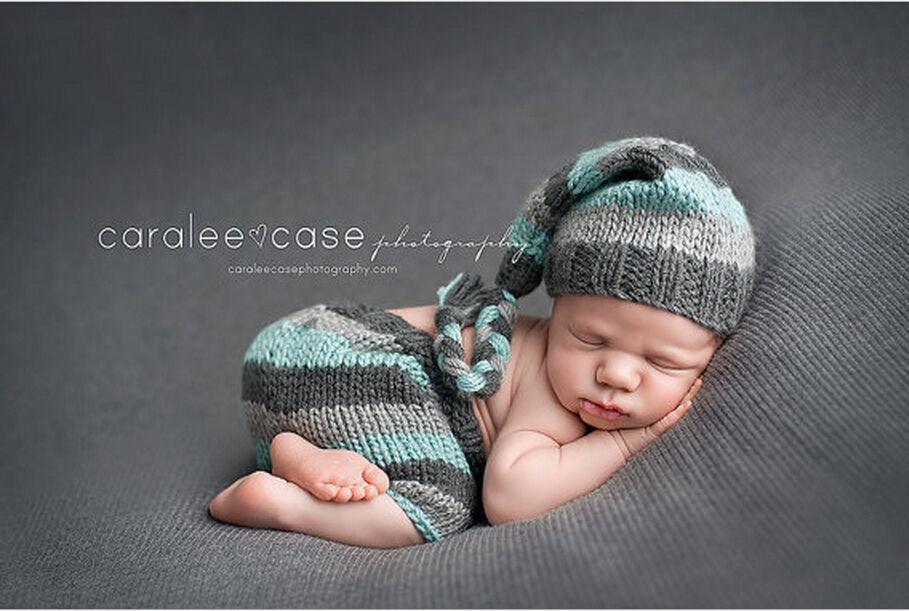 Newborn Baby Girls Boys Crochet Knit Costume Photo Photography Prop Outfits N3#146(China (Mainland))