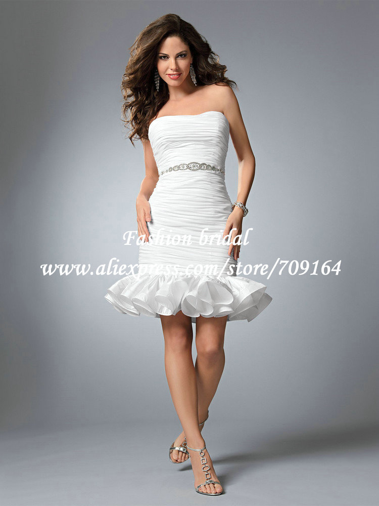 hot sale 2013 fall newest cute white taffeta ruffles