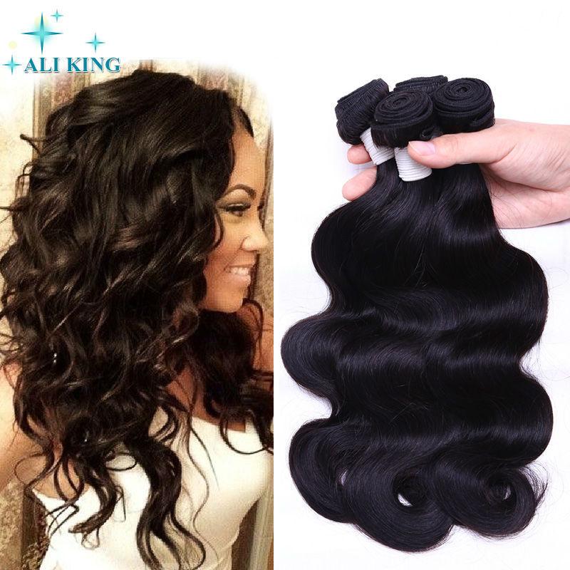 Гаджет  Xuchang Ali King Unprocessed Brazilian Body Wave Virgin Hair 100% Brazilian Wavy Human Hair Extension 3Bundle Deals  None Волосы и аксессуары