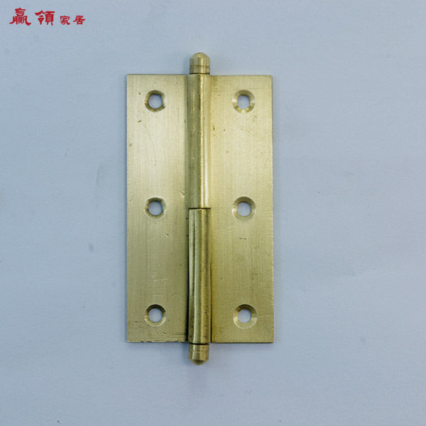 Win copper collar Chinese antique cabinet door hinge hinge roll hinge detachable leather YLF049 7.5CM<br><br>Aliexpress