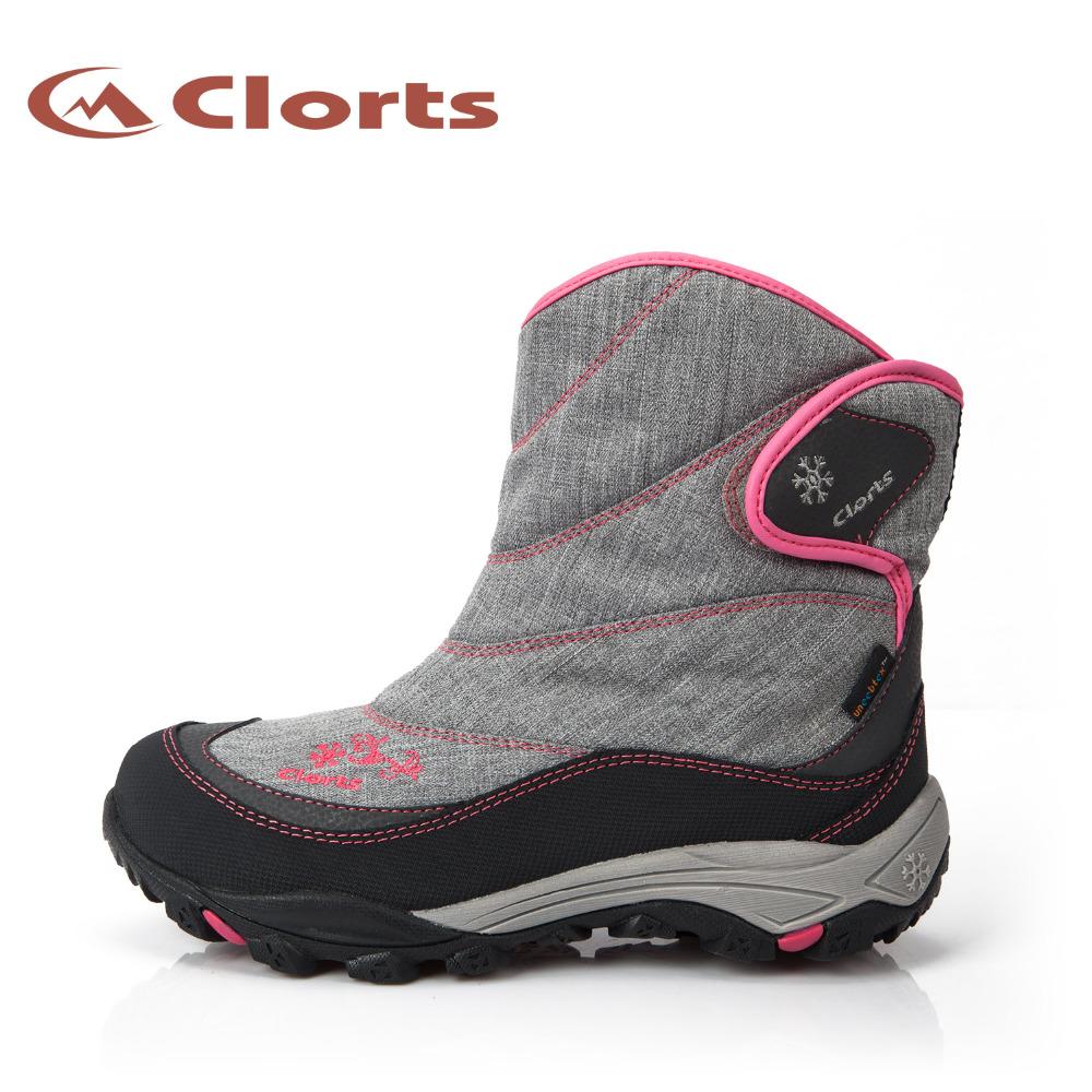 2016 Clorts Women Hiking Boots Waterproof Winter Sneakers for Women Sport Outdoor Shoes SNBT-203A/B