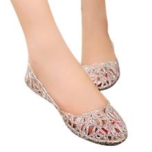 women sandals 2016 flat heel breathable sandals crystal fretwork sandalias mujer flip flops beach shoes 2016 new spring DT136