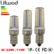 Buy z30 E14 LED Lamp Corn Bulb AC 220V AC110V 4W 5W 6W SMD 3014 64 72 104leds Lampada LED light 360 degrees Replace Halogen Lamp for $1.80 in AliExpress store