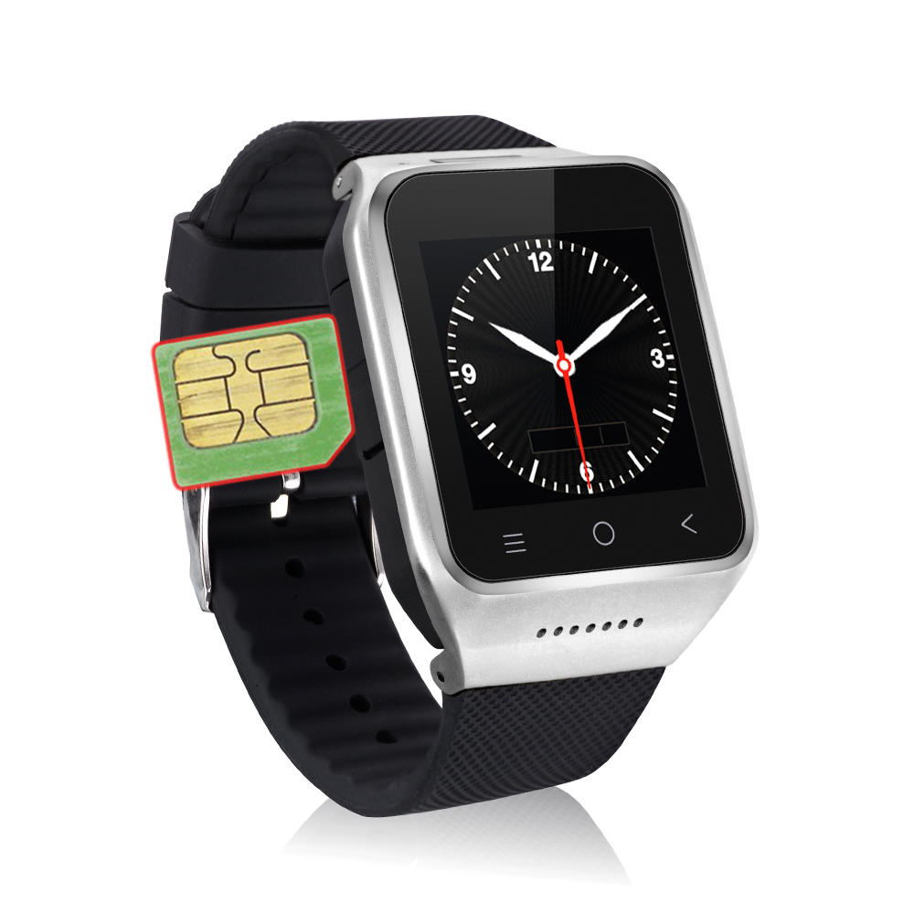 2015 Hot Bluetooth ZGPAX S8 Android Smart Wrist Watch Cellphone 3G GPS Camera WiFi MTK6572 Dual Core 3 Colors(China (Mainland))