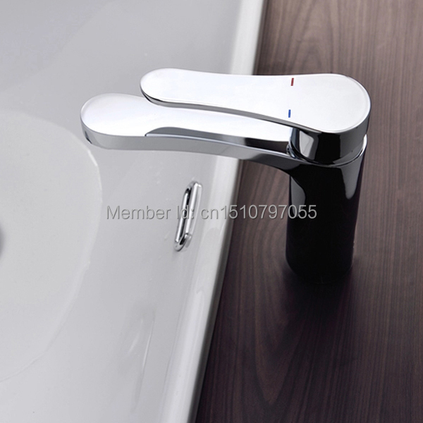 EOJO modern washbasin design Bathroom faucet mixer waterfall Hot and Cold Water taps for basin of bathroom(China (Mainland))
