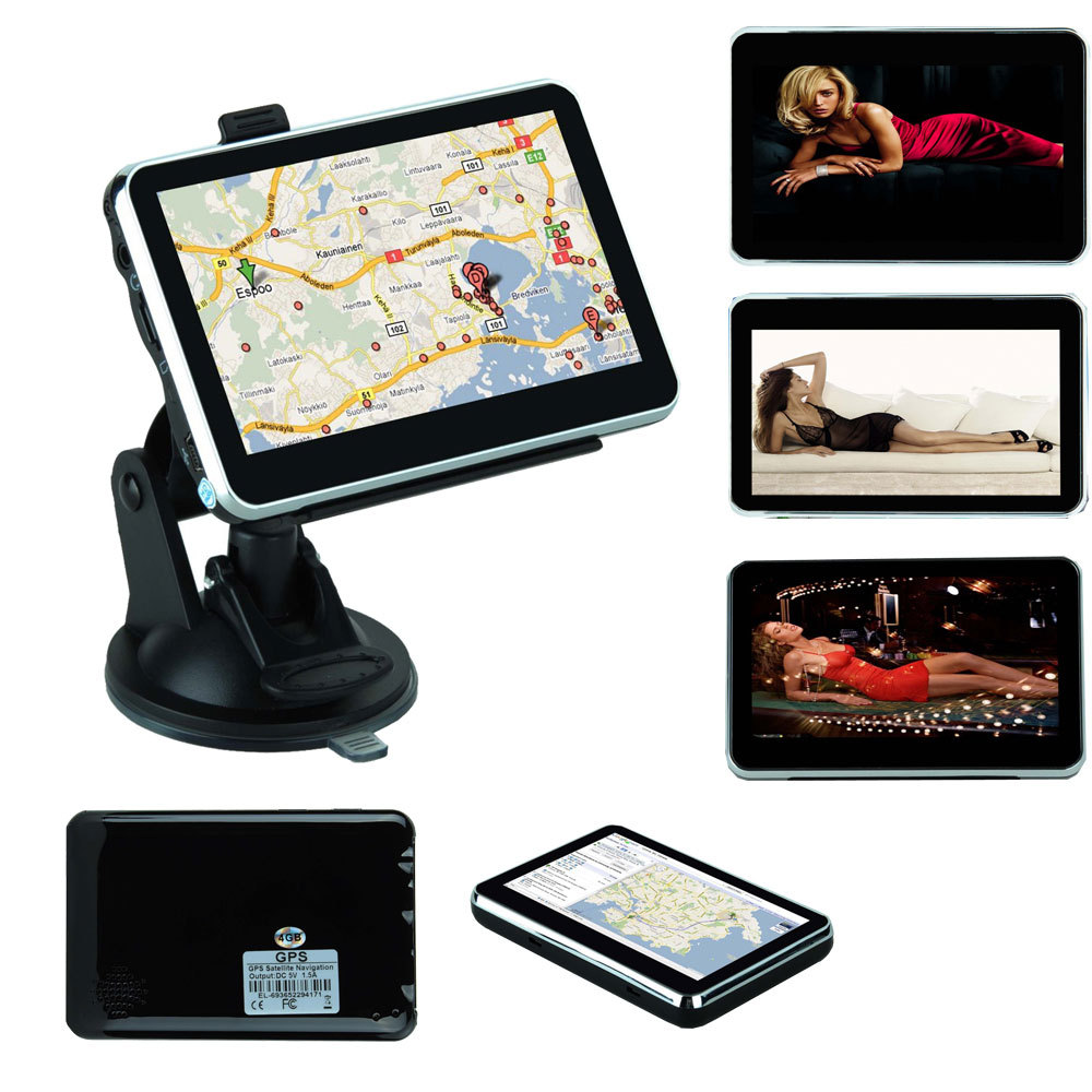 Best quality 4.3 inch GPS Car Navigation MTK 4GB Capacity UK EU AU NZ Maps Speedcam FreeShipping for all country(China (Mainland))