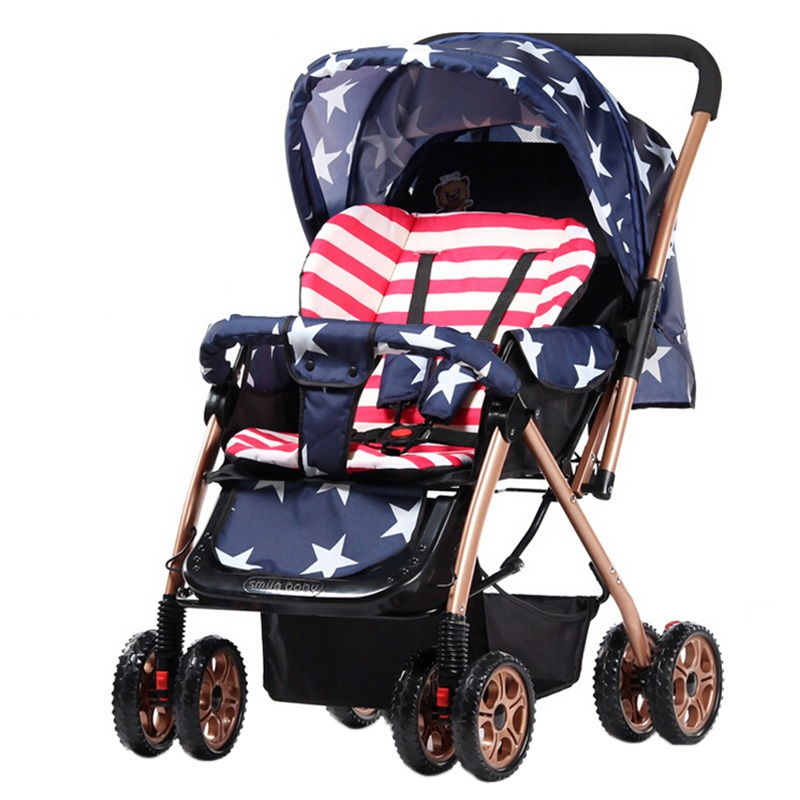 Здесь можно купить  Top Sale Baby Stroller Portable Folding Baby Carriage Light Weight Pushchair 4 Wheels Single Seat Travel Pram Shockproof Trolley Top Sale Baby Stroller Portable Folding Baby Carriage Light Weight Pushchair 4 Wheels Single Seat Travel Pram Shockproof Trolley Детские товары