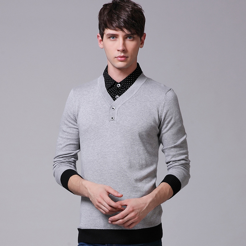 Sweater Over Dress Shirt ✓ Kamos T Shirt