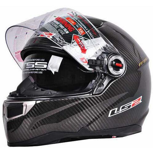 1pc 100% Genuine Carbon Fiber Motorcycle Helmets Racing Casco Air Pump Full Face Helmet(LS2 FF396 CT2)(China (Mainland))