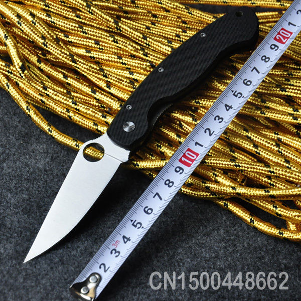 SCR36 Folding Knife CTS 204P Blade G10 Handle Camping tactical knife Outdoor Multi Tools Knives High