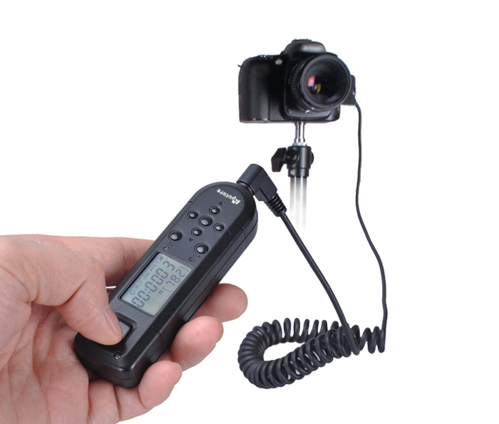 Aputure Pro Coworker II Wireless Timer remote control WTR3C for Canon 6D,1D Mark II III IV, 5D Mark II III, 50D, 40D, 30D(China (Mainland))