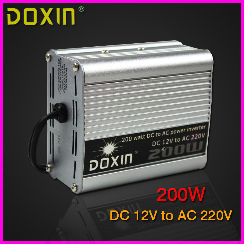 200W Household Car Power Inverter Converter DC 12V to AC 220V Car Battery Charger Adapter Car Power Supply ST-N002(China (Mainland))
