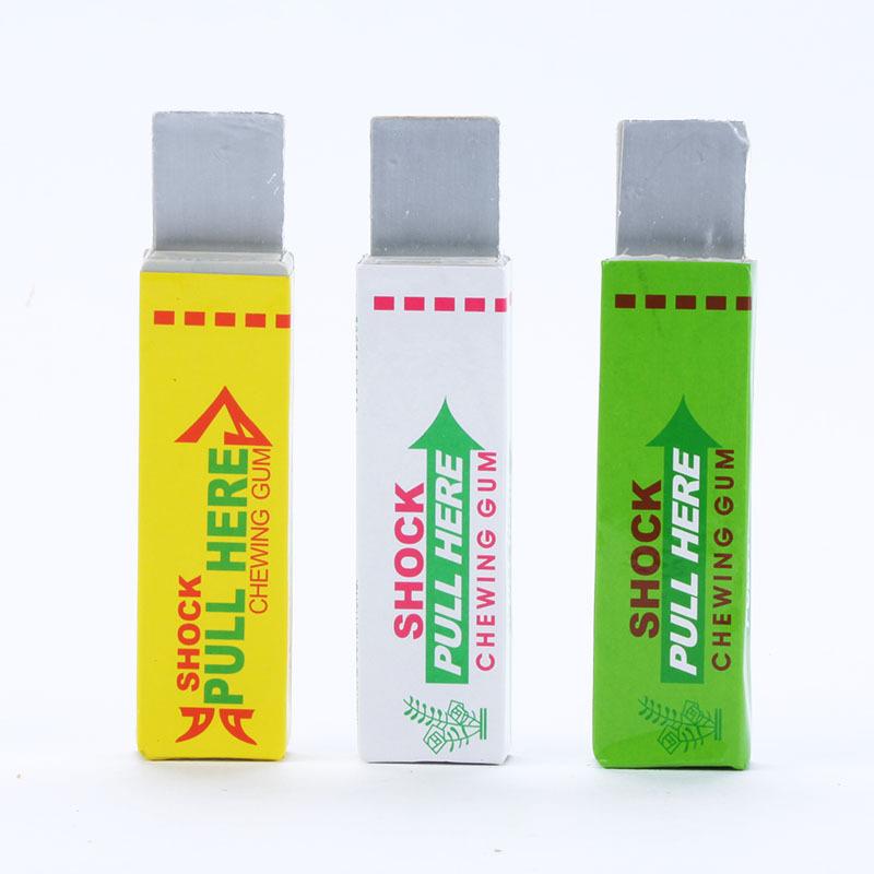 Electric Shock Joke Chewing Gum Shocking Toy Gift Prank Trick Gag Funny Gadget()