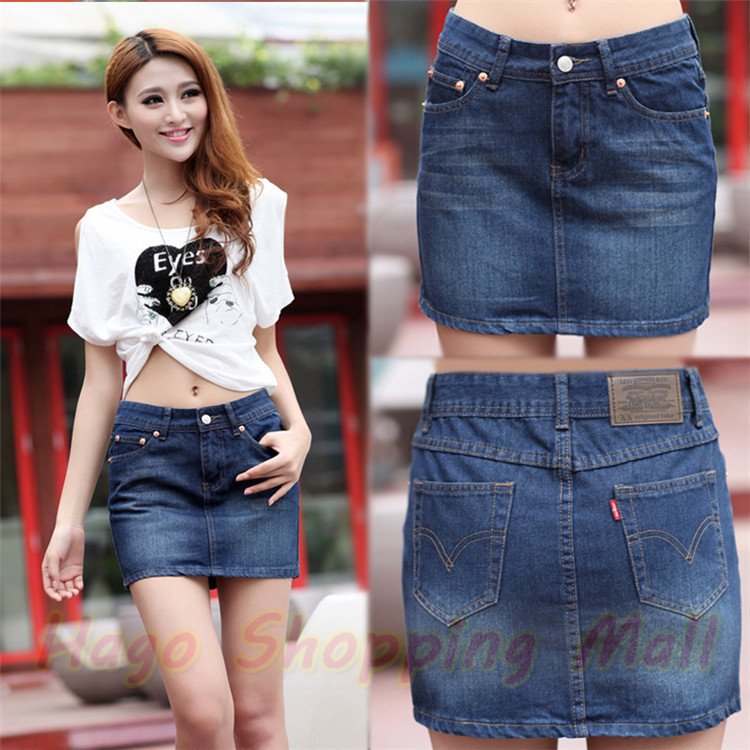 Womens jean mini skirt – The most popular models skirts