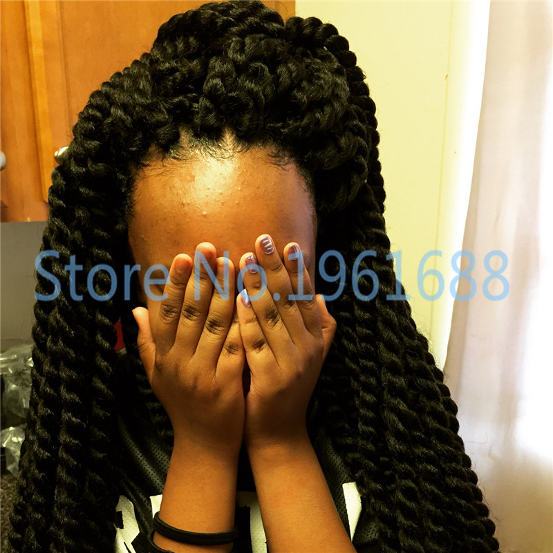 7packs/lot new arrival 24 havana mambo twist hair braids for croche...